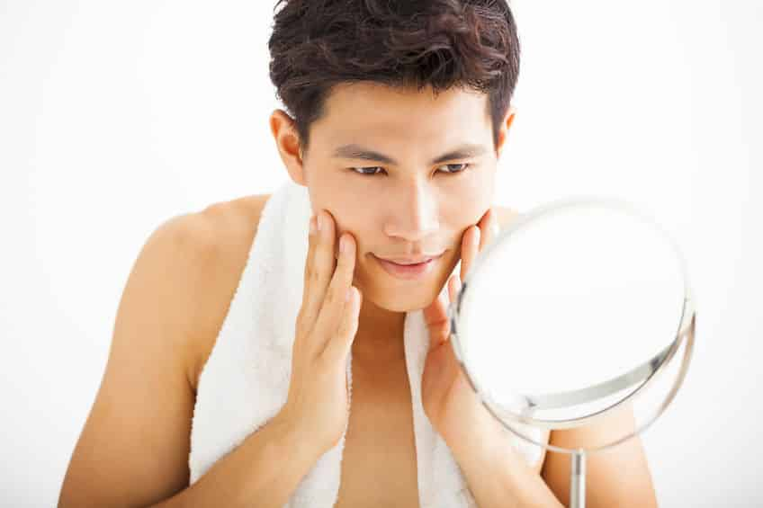 male skin conditions in NYC